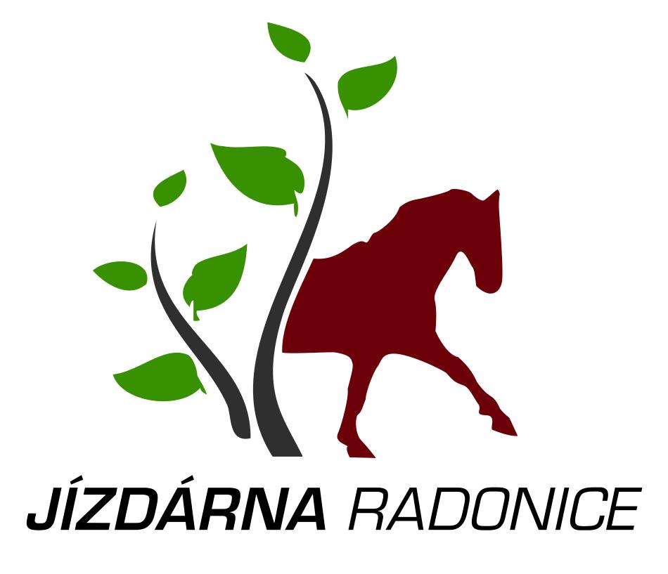 Logo jezdecké školy Jízdárna Radonice