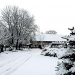 Poslední zimní sníh roku 2013 (již dávno kalendářní jaro)