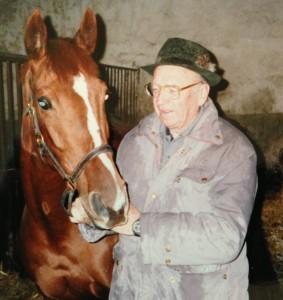 pan Stára v 77 letech s Irish Gift